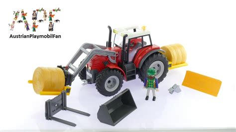 Playmobil Tractor playmobil country 6867 tractor with frontloader playmobil build review