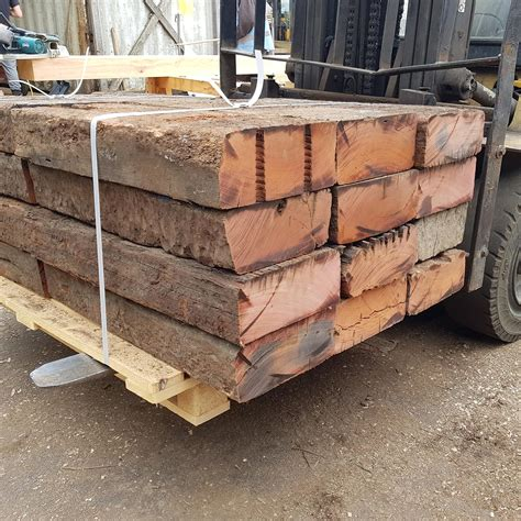 Reclaimed Hardwood Sleepers by Reclaimed Untreated Railway Sleepers Buy Large