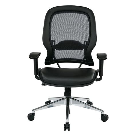 space seating space seating black airgrid back office chair 335 e37p918p