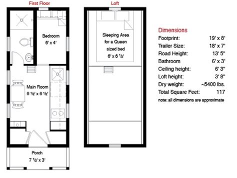 Tony House Floor Plan by Tiny House Plans Tiny House Floor Plans Tiny