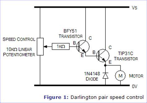 darlington transistor speed darlington pair speed electronics in meccano