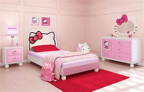 kids furniture children bedroom set a white bed with