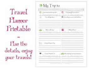Trip Journal Template by 9 Best Images Of Travel Planner Template Printable