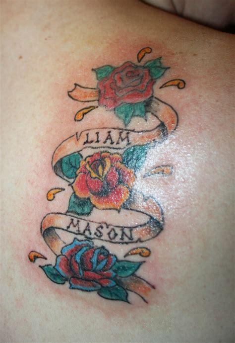tattoo ideas for grandkids names demeanour during the grandchildren name tattoo tattoos