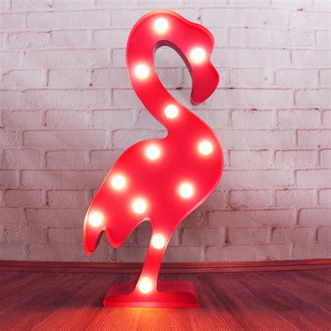 Flamingo Marquee Light Nero Zero Flamingo Lights