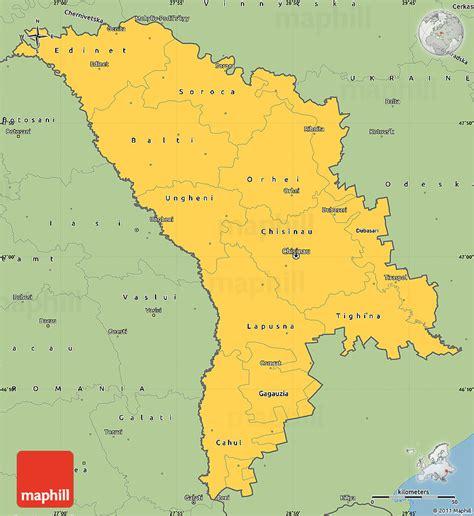 moldova world map savanna style simple map of moldova