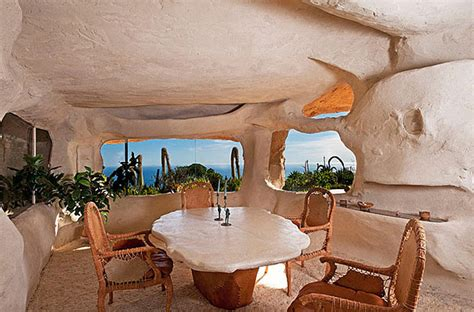 dick clarks flintstones inspired home  malibu