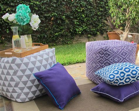 diy pillows for outdoors diyideacenter com