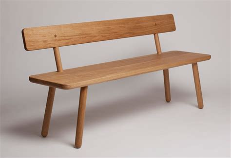 dining benches with backs bench one back designed by another country twentytwentyone