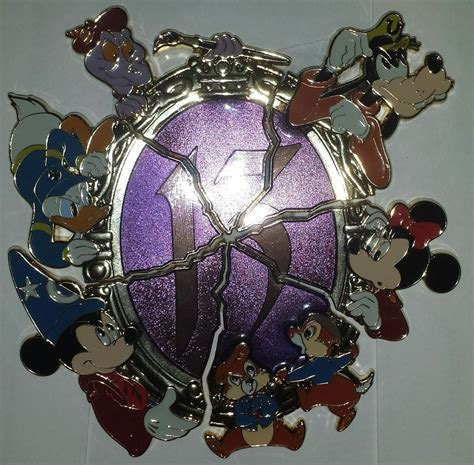 Your WDW Store   Disney 13 Reflections of Evil Pin
