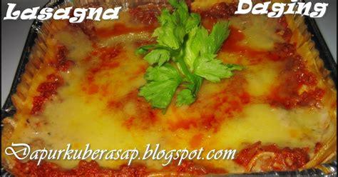 resepi membuat pizza hut dapurku berasap lagi lasagna daging