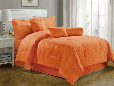orange queen comforter set 10 fun bright orange comforters and bedding sets