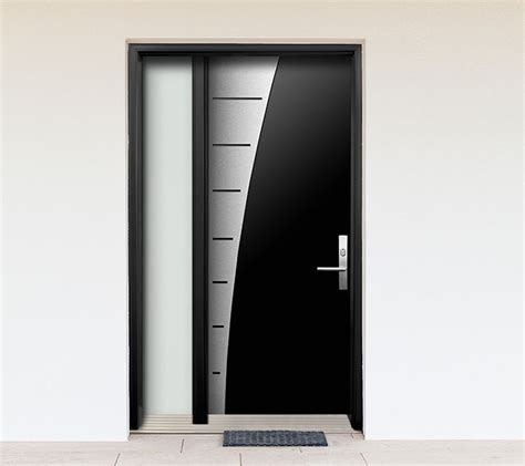 modern door designs modern contemporary wood door with stainless steel design