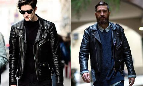 best leather jackets leather jackets the best brands for men to wear right now