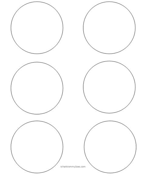 9 inch circle template printable 9 inch circle template image collections free