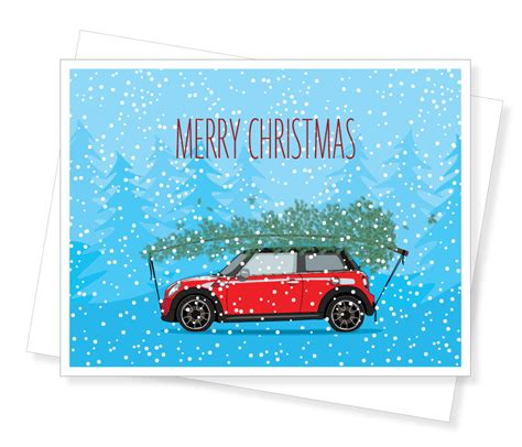 Mini Cooper Card mini cooper boxed cards by apartment2cards