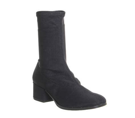 womens vagabond stretch boots black suede boots ebay