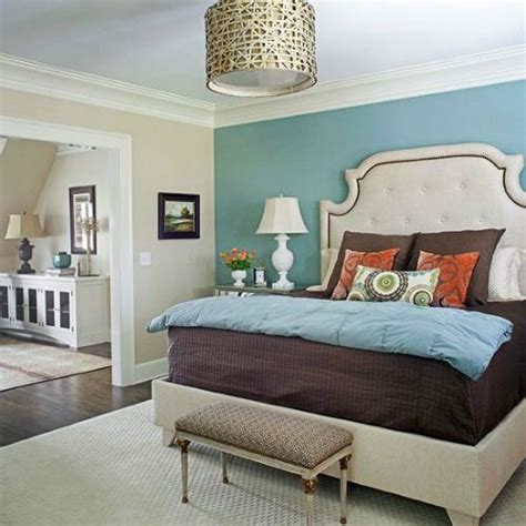 accent wall aqua bedroom accent walls blues