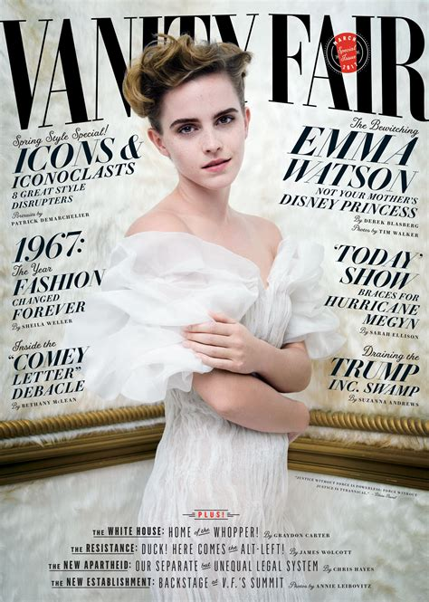 watson on march vanity fair cover 2017 popsugar