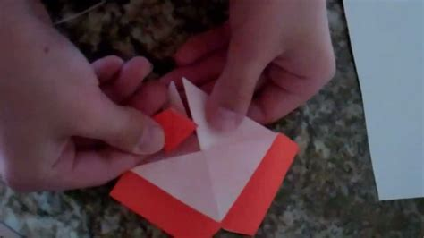 How To Make A Origami Volcano - how to make the origami volcano square base