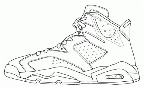 coloring sheets of jordans jordan shoe coloring pages coloring home