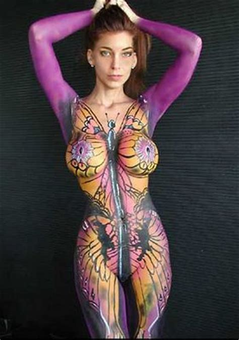 nosaroses eplekenyes: very hot body painting girls football