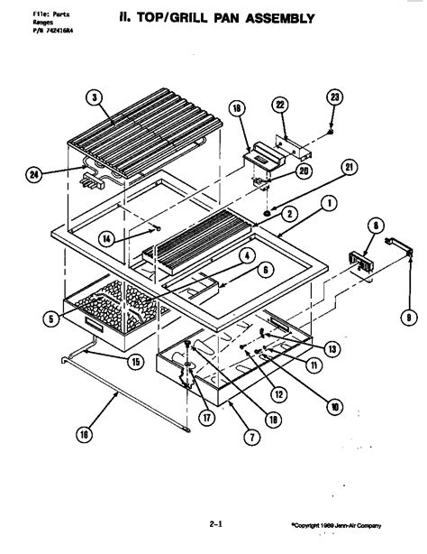 jenn air parts diagram jenn air s120 timer stove clocks and appliance timers