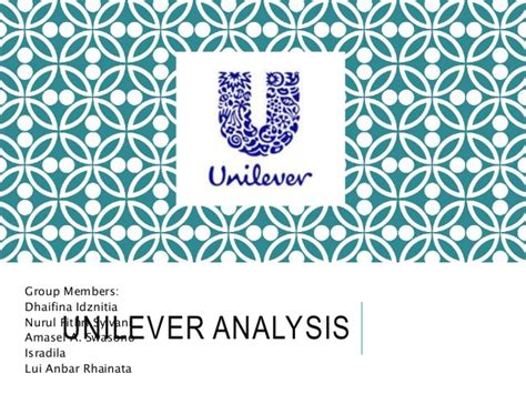 Layout Strategy Of Unilever | unilever strategic management assignment
