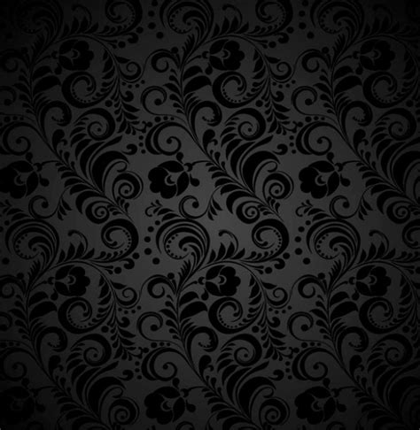 dark grey pattern wallpaper dark seamless floral grey pattern welovesolo