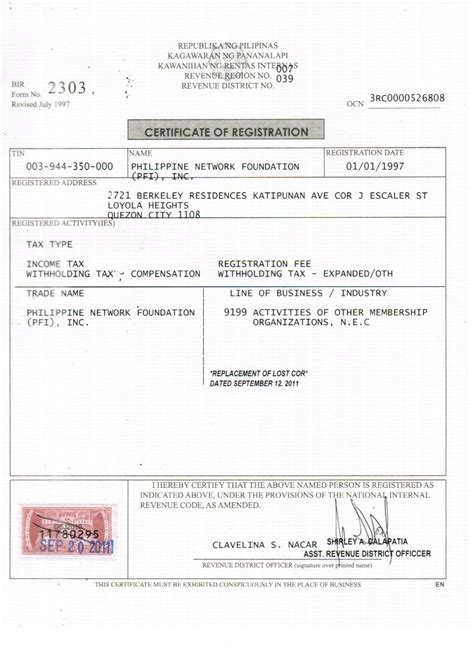 Sle Letter Of Intent In Bir request letter for bir certification 28 images sle