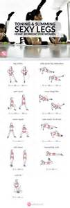legs get lean and leg exercises on