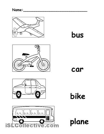 free printable preschool transportation worksheets 17 best images of transportation worksheets for