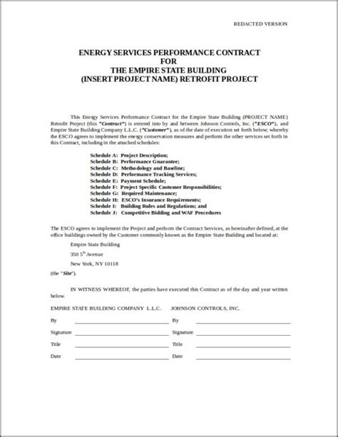 Performer Contract Template by Performance Contract Template Filled Performer Contract
