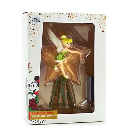 tinkerbell tree topper disney store tinker bell light up tree topper