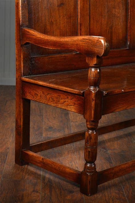 rustic oak bench rustic oak long bench mecox gardens