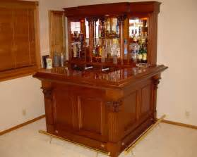 Wood Capitals And Corbels Custom Home Bars