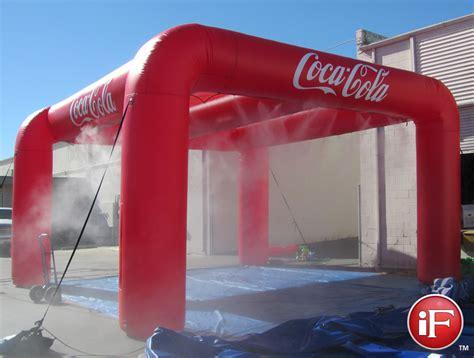 inflatable misting tent custom mister misting station