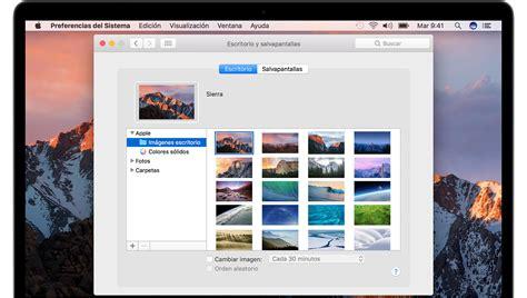 como cambiar el fondo de escritorio c 243 mo cambiar el fondo de pantalla del mac soporte