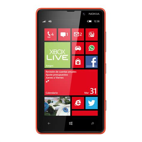Nokia Lumia X Nokia Lumia 820 Galeria Telefonu X Mobile Pl Ms Windows Phone 8 Ekran Dotykowy