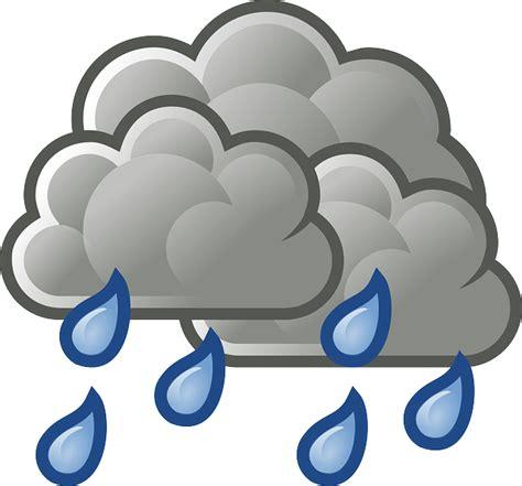 Rainy Awan free vector graphic heavy cloudy rainy