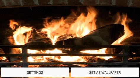 live fireplace wallpaper fireplace sound live wallpaper android apps on play