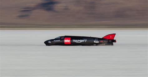 fastest in the world triumph infor rocket becomes world s fastest triumph