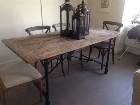 $460 Restoration Hardware Flatiron Table Originally paid