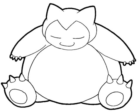 pokemon coloring pages snorlax how to draw snorlax from pokemon with easy step by step