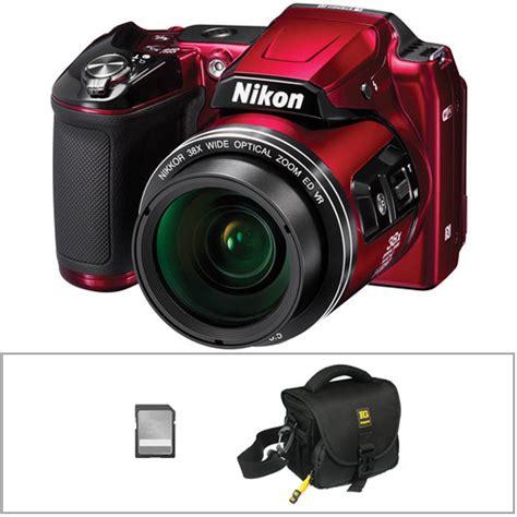 nikon coolpix l840 digital with accessories kit b h