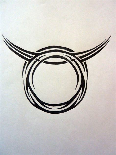 zodiac signs taurus tattoo designs tribal zodiac taurus by magpievon on deviantart