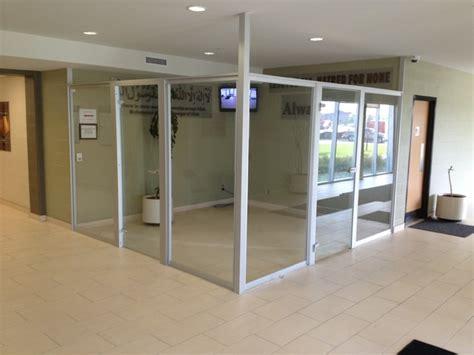 office room dividers glass room divider contemporary home office toronto by komandor canada closets doors inc