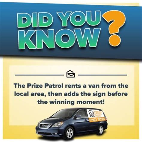 Pch Prize Patrol 2016 - did you know all about the pch prize patrol van pch blog