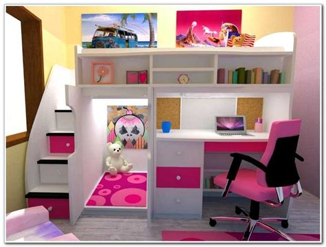 twin bed desk combo kids full size beds full size storage bed with bookcase