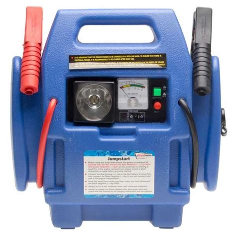 12v portable power inverter engine booster starter car jump start air compressor ebay